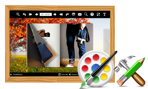 AnyFlip-100% Free Flipbook Software to Edit and Custom a Gorgeous Flipbooks